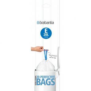 20 Brabantia Bin Liners Size E