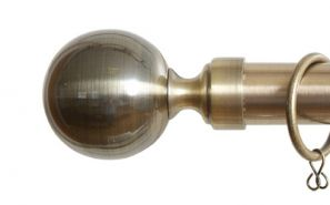 28mm Vista Antique Brass Rod Set 160cm