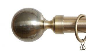 28mm Vista Antique Brass Rod Set 200cm