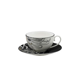 Denby Monsoon Chrysanthemum Tea Saucer