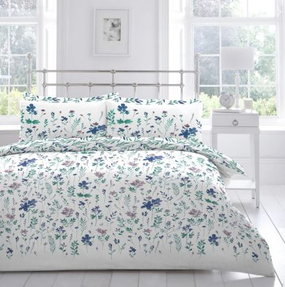 Appletree Carina Duvet Cover Set - Superking