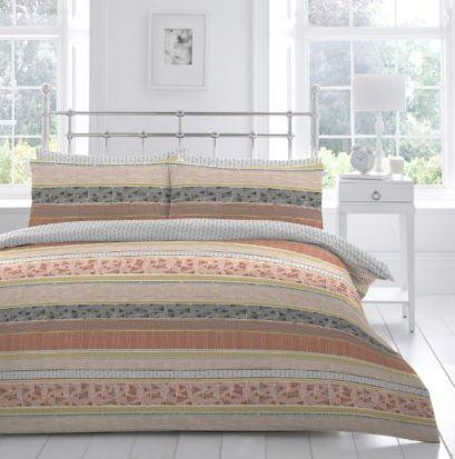 Appletree Desert Stripe Duvet Cover Set - Double