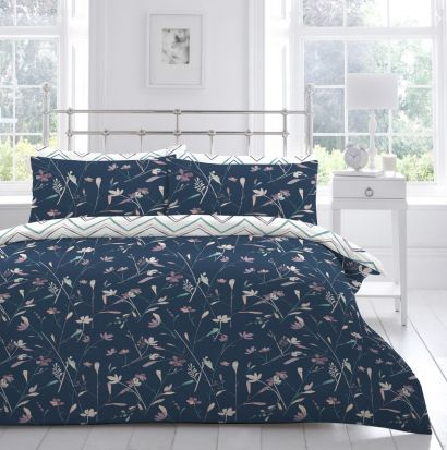 Appletree Whispy Stems Duvet Cover Set - Superking