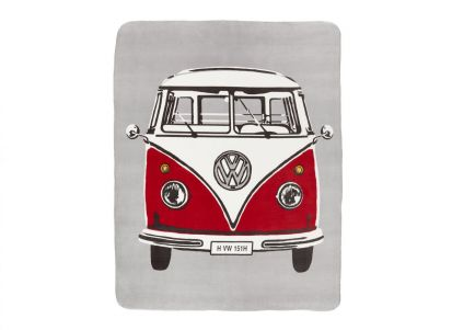 Ashley Wilde Volkswagon On Tour Retro Van Throw