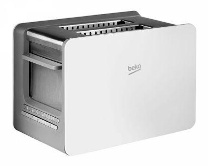 Beko Sense 2-Slice Toaster - White