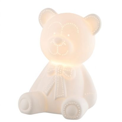 Belleek Teddy Bear Luminaire