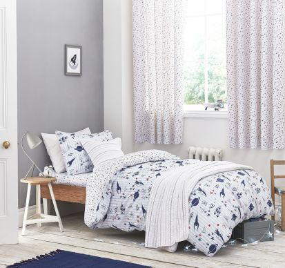 Bianca Cotton Soft Space Duvet Cover Set Double