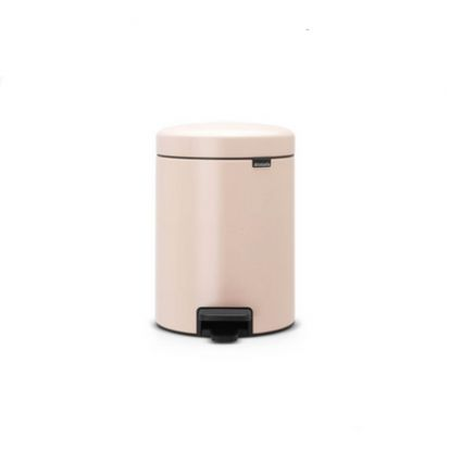 Brabantia Newicon 5-Litre Pedal Bin Soft Closing - Clay Pink