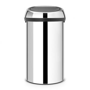 Brabantia Touch Bin 60 Litre - Brilliant Steel