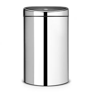 Brabantia Twin Bin 23/10 Litre - Brilliant Steel
