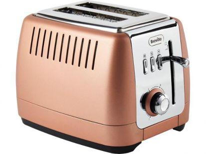 Breville Strata Luminere 2 Slice Toaster - Rose Gold