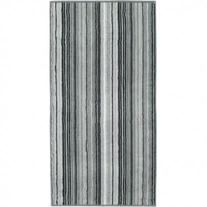 Cawo Two-Tone Multistripe Bath Towel