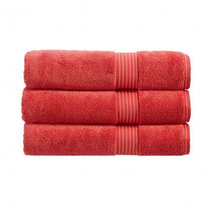 Christy Supreme Hygro Face Cloth - Coral