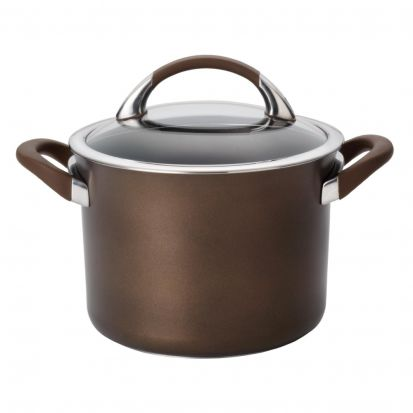 Circulon Symmetry 20cm Saucepot - Chocolate