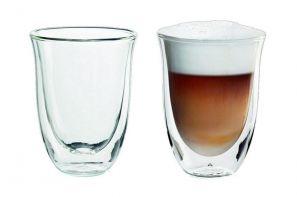 De Longhi 2 Latte Macchiato Glasses 5513214611