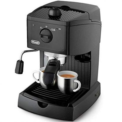 Delonghi Espresso Pump Coffee Machine Black