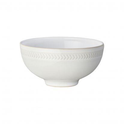 Denby Natural Canvas Textured Rice Bowl