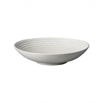 Denby Studio Blue Chalk Medium Ridge Bowl