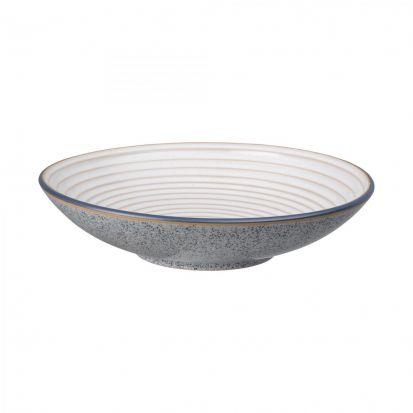 Denby Studio Grey Large Ridged Bowl