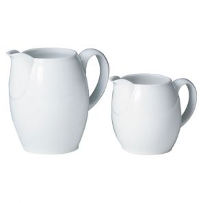 Denby White Large Jug