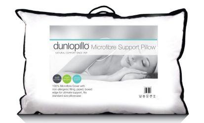 Dunlopillo Microfibre Support Pillow