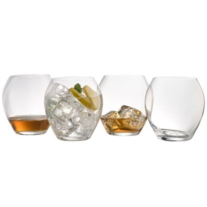 Galway Crystal Clarity Glassware - Tumbler Set of 4