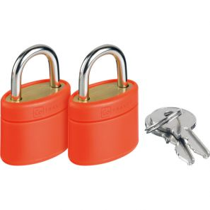 Go Travel Glo Locks - Orange