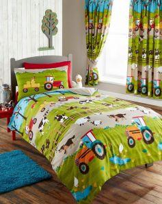 Kids Club Farmyard Readymade Curtains 66