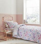Bianca Woodland Unicorn and Stars Pink Duvet Cover Set - Double 1