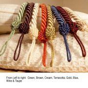 Cameo Rope Cream Tieback